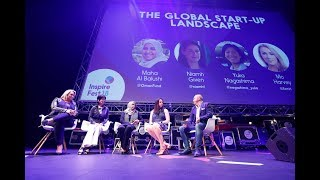 The Global Start-up Landscape: Panel discussion at Inspirefest 2018