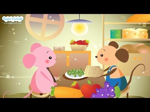Câu truyện: Chuột nhà và chuột đồng