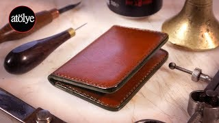 Make A Leather Wallet | Rfid Protected