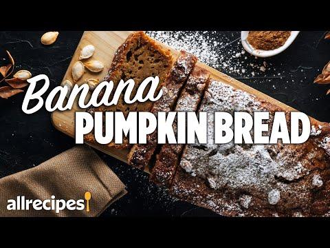 How to Make Moist Banana Pumpkin Bread | Easy Bread Recipe | Allrecipes at Home