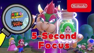 Nintendo Test Your 5-Second Focus with Super Mario 3D World + Bowser's Fury anuncio