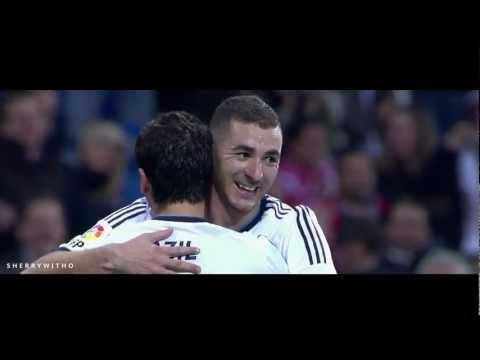 Karim Benzema and Mesut Özil