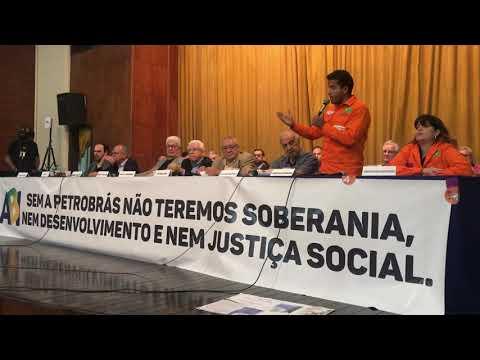Lançamento da Frente Estadual em Defesa da Petrobras e da Soberania