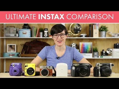 Fuji Instax Comparison by Photography Concentrate