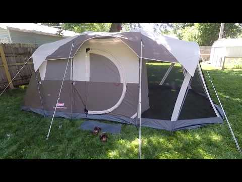 Coleman Weathermaster 6 Person Tent (Review) & Coleman Sundome 6 Person Tent Review | Trek Gear