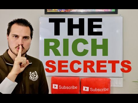 3 Secrets The Rich Will Never Tell You
