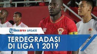 Kalteng Putra, Perseru Badak Lampung dan Semen Padang Dipastikan Terdegradasi dari Liga 1 2019