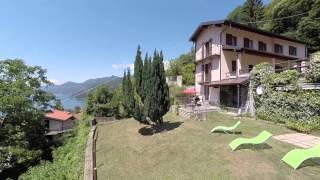 preview picture of video 'Casa Vacanza Terrazza   Borgo Paradiso Veddo Maccagno Lago Maggiore'