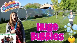 Giant Bubble Maker / That YouTub3 Family