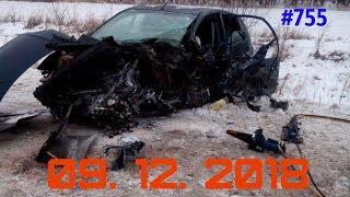 ☭★Подборка Аварий и ДТП/Russia Car Crash Compilation/#755/December 2018/#дтп#авария