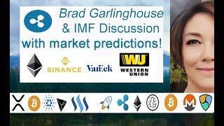 Ripple Brad Garlinghouse Predictions! IMF in Singapore, Binance, Van Eck ETF