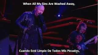 Judas Priest - Angel [Lyrics Y Subtitulado Al Español]
