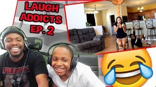 Laugh Addicts Ep.2 - MAV3RIQ Fam Try Not To Laugh Compilation