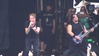 Fear Factory - Martyr (live at the Melbourne Showgrounds, Soundwave 2015).