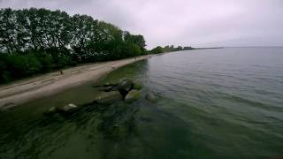 Baltic Sea - FPV Freestyle - getting used to water