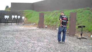 Brandon And Kerry Vera Shooting Range At U.S. Training Center