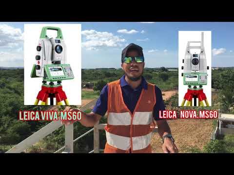 Estación total Leica viva y nova