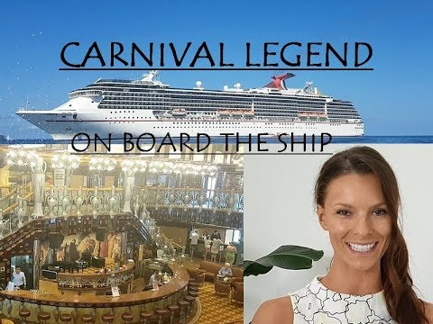 Pacific Islands Cruise on the Carnival Legend Ship- a walk-through tour ( 2017 )