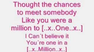 Hannah montana/Miley cyrus - one in a million x