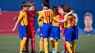 FCB Escola Campamento de Fútbol video at Youtube