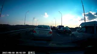 ДТП 18.08.2017 Гаванский мост AA0428IO AX4710CP (АА0428ІО АХ4710СР)