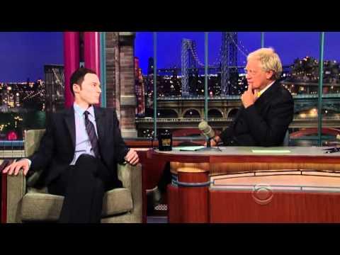 Jim Parsons u Davida Lettermana