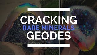 CRACKING GEODES! How are Geodes Formed & What They Look Like