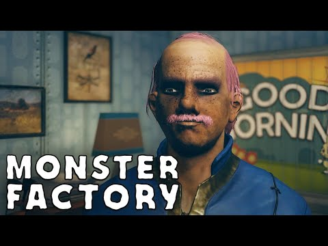 "Freddy ""Slimeburger"" Jr. emerges from Vault 76 