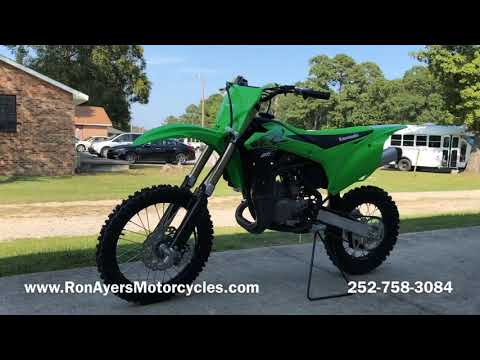 2020 Kawasaki KX 85 in Greenville, North Carolina - Video 1