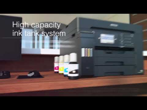 video gioi thieu may in epson epson ecotank l15160