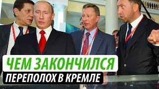 Чем закончился переполох в Кремле