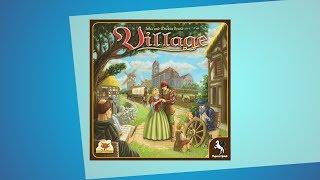 Village // Kennerspiel des Jahres 2012 - Erklärvideo