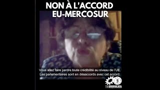NON à l'Accord EU-Mercosur !