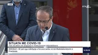 Drejtpërdrejt - Situata me COVID-19 05.07.2020