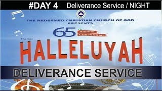 RCCG 65th ANNUAL CONVENTION 2017 #Day 4_ Deliverance Service / NIGHT