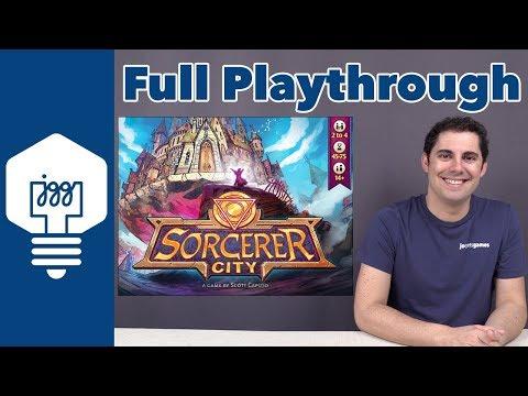 JonGetsGames - Sorcerer City Full Playthrough