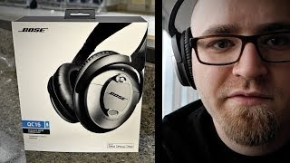 Bose QC15 Unboxing - At the Airport!