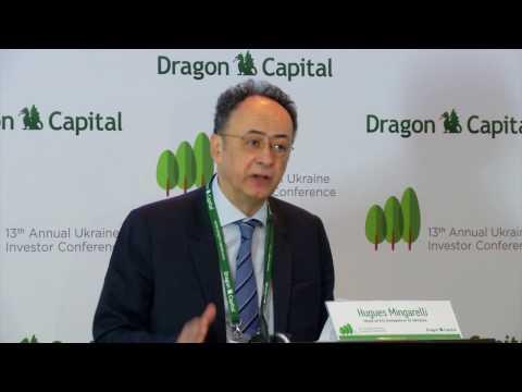 13-та Інвестиційна конференція Dragon Capital: Основна промова, Хьюг Мінгареллі
