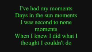 Emerson Drive  Moments Lyrics