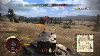World of Tanks PS4 бой на КВ-2