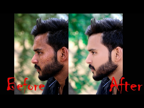 Photoshop Tutorial: How to Quickly Smooth Skin and Remove Blemishes & Scars in just 5 minutes