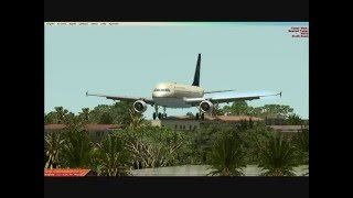 preview picture of video 'Saudia A320 Flight from Jeddah(OEJN) to Khartoum(HSSS)'