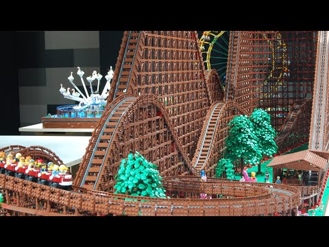 Record Setting LEGO Roller Coaster