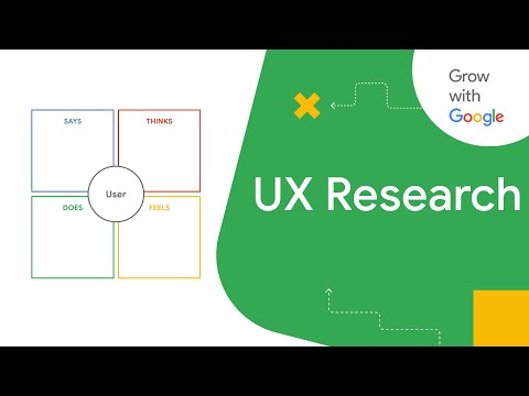 What is UX Research?   Google UX Design Certificate - YouTube