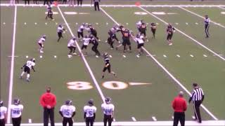Youth Football Highlights 11 yr. old ***Voted BEST Plays 2017***