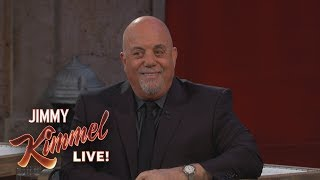 Billy Joel Jimmy Kimmel Live! Interview (Part 3)