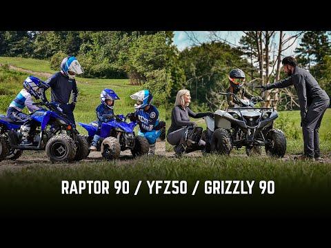 2022 Yamaha Grizzly 90 in Eden Prairie, Minnesota - Video 1