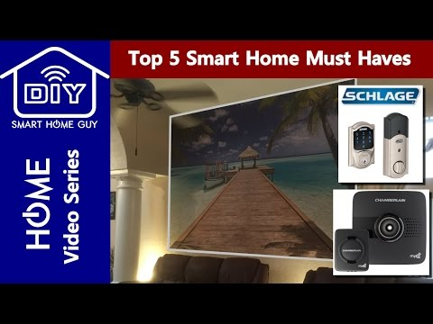 Top 5 Smart Home MUST Have Gadgets – Your DIY Home of the Future through Automation