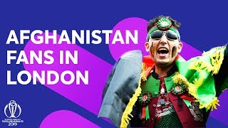 Ridhima Meets The Afghanistan Fans In London! | ICC Cricket World Cup 2019