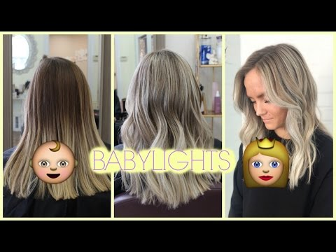 BABYLIGHTS TUTORIAL | LIFTING TWO TONED HAIR EVENLY